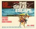 "Movie Posters:War, The Great Escape (United Artists, 1963). Half Sheet (22"" X 28"")....."