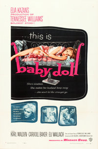 """Baby Doll (Warner Brothers, 1957). One Sheet (27"""" X 41"""")"""