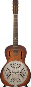Musical Instruments:Resonator Guitars, Circa 1941 Dobro Sunburst Resonator Guitar. ...