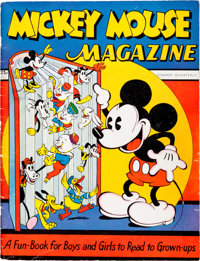 Mickey Mouse Magazine #1 (K. K. Publications/ Western Publishing Co., 1935) Condition: VG/FN