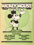 Platinum Age (1897-1937):Miscellaneous, Mickey Mouse Book (Bibo and Lang, 1930) Condition: VG....