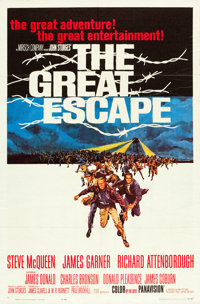 """The Great Escape (United Artists, 1963). One Sheet (27"""" X 41"""")"""