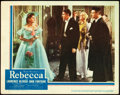 """Movie Posters:Hitchcock, Rebecca (United Artists, 1940). Lobby Card (11"""" X 14"""").. ..."""