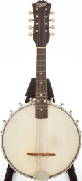 Musical Instruments:Banjos, Mandolins, & Ukes, 1930s Bacon Peerless Natural Banjo Mandolin, Serial # 9434. ...