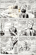 Original Comic Art:Panel Pages, Jack Kirby and Frank Giacoia Captain America #198 Page 17Original Art (Marvel, 1976)....