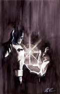 Original Comic Art:Splash Pages, Alex Ross Batman and Dick Grayson Splash Page IllustrationOriginal Art (undated)....