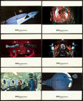 "Movie Posters:Science Fiction, 2001: A Space Odyssey (MGM, 1968). British Cinerama Color Photos(12) and Color Photo (1) (8"" X 10"").. ... (Total: 13 Items)"