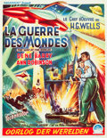 "Movie Posters:Science Fiction, The War of the Worlds (Paramount, 1953). Belgian (14"" X 18"").. ..."