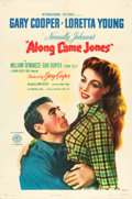 "Movie Posters:Western, Along Came Jones (RKO, 1945). One Sheet (27"" X 41"") Style A.. ..."