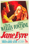 "Movie Posters:Romance, Jane Eyre (20th Century Fox, 1944). One Sheet (27"" X 41"").. ..."