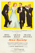 "Movie Posters:Comedy, High Society (Allied Artists, 1955). One Sheet (27"" X 41"").. ..."