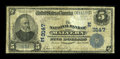 National Bank Notes:Pennsylvania, Malvern, PA - $5 1902 Plain Back Fr. 598 The NB of Malvern Ch. #(E)3147. ...