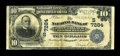 National Bank Notes:Kentucky, Barbourville, KY - $10 1902 Plain Back Fr. 624 The NB of John A.Black Ch. # (S)7284. ...