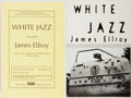 Books:Mystery & Detective Fiction, James Ellroy. INSCRIBED. White Jazz. Knopf, 1992.Uncorrected proof. Signed and inscribed by the author. Mild ru...