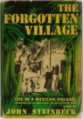 Books:Americana & American History, John Steinbeck. The Forgotten Village. Viking Press, 1941.First edition. Publisher's binding and dust jacket. M...