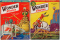 Books:Science Fiction & Fantasy, Hugo Gernsback [editor]. Group of Two Issues of Wonder Stories. May, 1932 and March, 1933. Minor toning and rubbing....