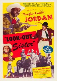 """Look-Out Sister (Astor, 1947). One Sheet (27"""" X 41"""")"""