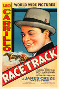 "Movie Posters:Action, Racetrack (Fox, 1933). One Sheet (27"" X 41"") Style B.. ..."