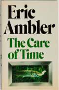 Books:Mystery & Detective Fiction, Eric Ambler. INSCRIBED WITH ALS. The Care of Time.Weidenfeld and Nicolson, 1981. First UK edition. Inscribed ...
