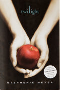Books:Horror & Supernatural, Stephenie Meyer. SIGNED. Twilight. Little, Brown, 2005.Advance reading copy of the first edition. Signed and ...