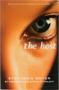 Books:Horror & Supernatural, Stephenie Meyer. The Host. Sphere, 2008. Uncorrected proofof the first UK edition. Publisher's wrappers. Minor ...