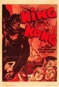"Movie Posters:Horror, King Kong (RKO, R-1952). One Sheet (27"" X 41"").. ..."
