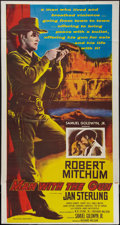 "Movie Posters:Western, Man with the Gun (United Artists, 1955). Three Sheet (41"" X 77.5""). Western.. ..."