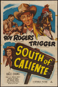 """Movie Posters:Western, South of Caliente (Republic, 1951). One Sheet (27"""" X 41"""").Western.. ..."""