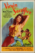 """Movie Posters:Adventure, Virgin Sacrifice (Releasing Corporation of Independent Producers,1959). One Sheet (27"""" X 40.85""""). Adventure.. ..."""