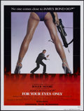 "Movie Posters:James Bond, For Your Eyes Only (United Artists, 1981). One Sheet (27"" X 41"")Advance. James Bond. ..."