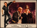 "Movie Posters:Swashbuckler, Don Q, Son of Zorro (United Artists, 1925). Trimmed Lobby Card (10"" X 13""). Swashbuckler.. ..."