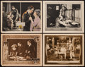 "Movie Posters:Crime, There are No Villains & Others Lot (Metro, 1921). Lobby Cards(4) (11"" X 14""). Crime.. ... (Total: 4 Items)"