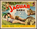"Movie Posters:Adventure, Jaguar & Others Lot (Republic, 1955). Half Sheets (9) (22"" X28"") Style B. Adventure.. ... (Total: 9 Items)"