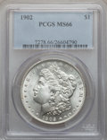 Morgan Dollars, 1902 $1 MS66 PCGS....