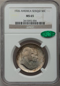 Commemorative Silver, 1926 50C Sesquicentennial MS65 NGC. CAC....