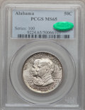 Commemorative Silver, 1921 50C Alabama MS65 PCGS. CAC....