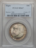 Commemorative Silver, 1936 50C Elgin MS67 PCGS....