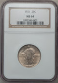 Standing Liberty Quarters, 1921 25C MS64 NGC....