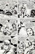 Original Comic Art:Panel Pages, Jack Kirby and Frank Giacoia Captain America #198 Page 14Original Art (Marvel, 1976)....