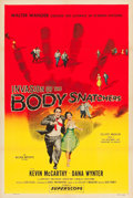 "Movie Posters:Science Fiction, Invasion of the Body Snatchers (Allied Artists, 1956). One Sheet(27"" X 41"").. ..."