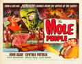 """Movie Posters:Science Fiction, The Mole People (Universal International, 1956). Half Sheet (22"""" X28"""") Style A.. ..."""