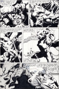 Original Comic Art:Panel Pages, John Byrne and Joe Rubinstein Captain America #249 DragonMan Page 2 Original Art (Marvel, 1980)....