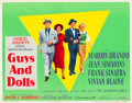 """Movie Posters:Musical, Guys and Dolls (MGM, 1955). Half Sheets (2) (22"""" X 28"""") Style A andB.. ... (Total: 2 Items)"""