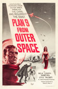 "Movie Posters:Science Fiction, Plan 9 from Outer Space (DCA, 1958). One Sheet (27"" X 41""). Fromthe collection of Wade Williams.. ..."