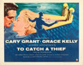 """Movie Posters:Hitchcock, To Catch a Thief (Paramount, 1955). Half Sheet (22"""" X 28"""") Style A.. ..."""