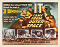 "Movie Posters:Science Fiction, It Came from Outer Space (Universal International, 1953). HalfSheet (22"" X 28"") 3-D Style A.. ..."
