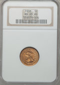 Indian Cents: , 1908 1C MS65 Red NGC. NGC Census: (142/34). PCGS Population(227/43). Mintage: 32,327,988. Numismedia Wsl. Price for proble...
