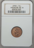 Indian Cents: , 1909 1C MS65 Red NGC. NGC Census: (253/30). PCGS Population(618/157). Mintage: 14,370,645. Numismedia Wsl. Price for probl...