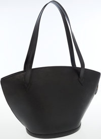 Louis Vuitton Black Epi Leather St. Jacques GM Tote Bag