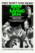 "Movie Posters:Horror, Night of the Living Dead (Continental, 1968). One Sheet (27"" X41"").. ..."